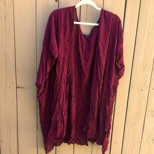 Brandy Melville kimono style wrap